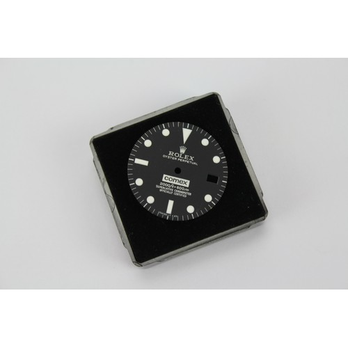 119 - A Rolex oyster Comex 2000ft/600m Watch face. We can not guarantee authenticity of this lot....