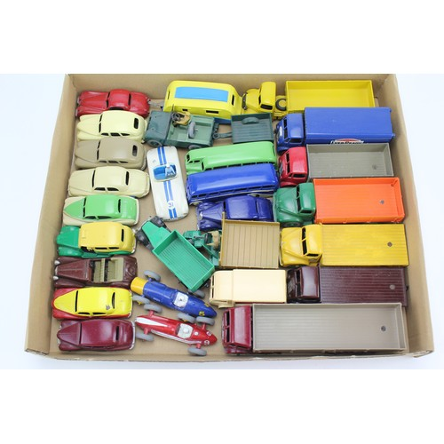 11 - A Tray of 25+ REPAINTED 1950's Dinky Toys in Excellent Condition....