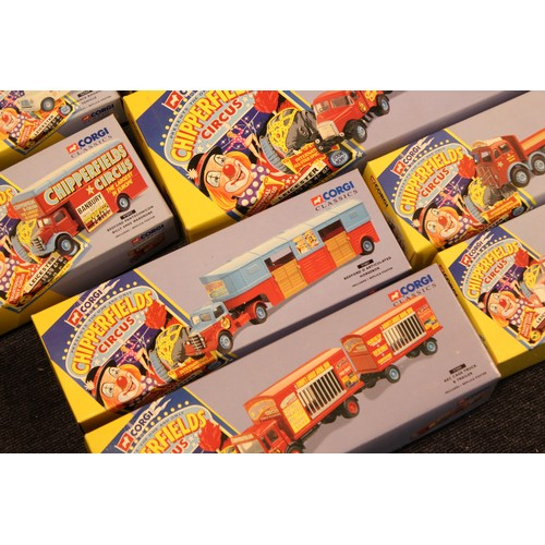 4 - A Collection 12 x (1995) Corgi Chipperfields Circus Models all in Mint Original Condition along with...