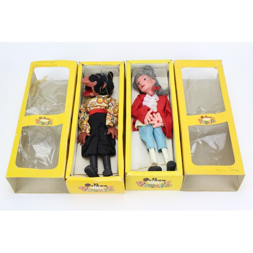 40 - A Pair of Pelham Puppets to include the