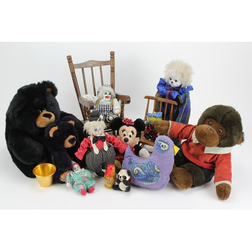 18 - Two Doll's Chair's and various children toys....