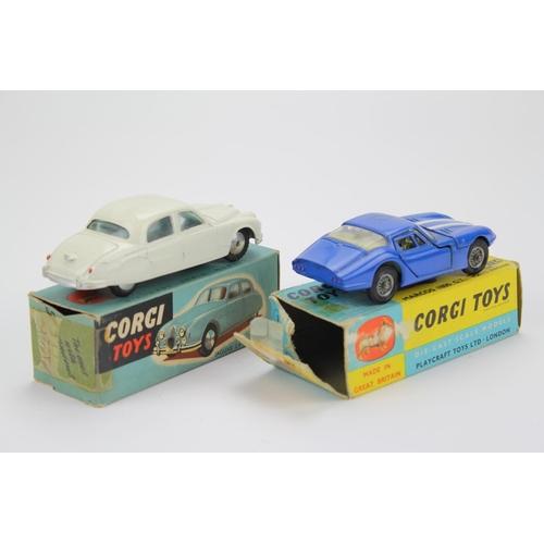 17 - 2 x Corgi models to include: No: 208