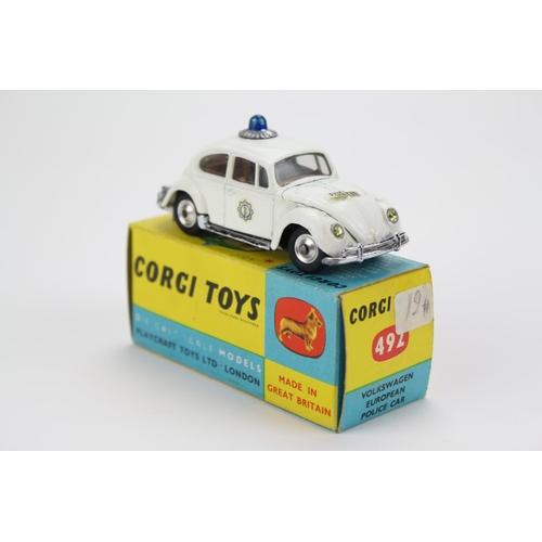 33 - A Scarce Export Model Corgi No: 492