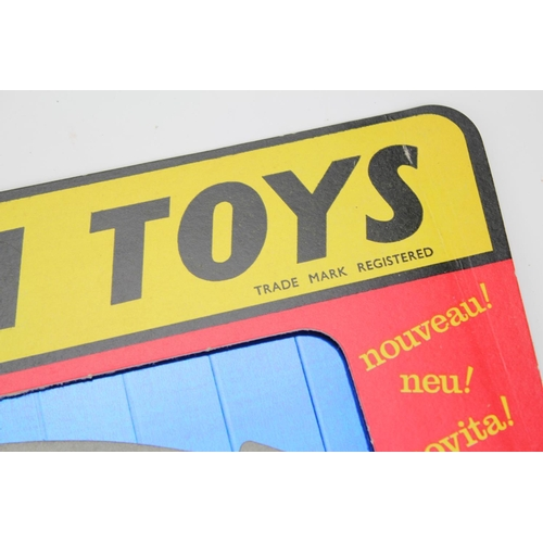 43 - A Very Rare Original 1950's Corgi Shop Display Card Stand in UNMADE Condition. This came from a loca...