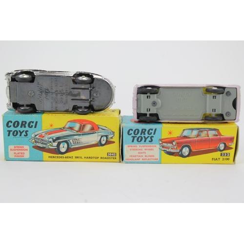 62 - 2 x Corgi Toys to include: No: 304S