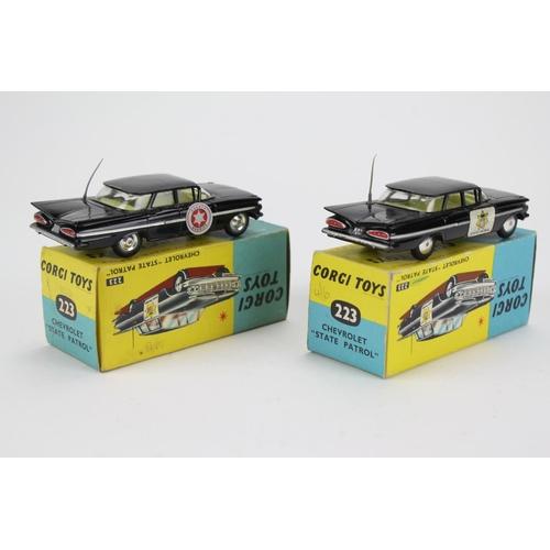 63 - 2 x Corgi Toys No: 223's