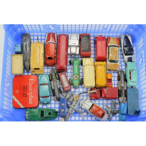 70 - 25+ Unboxed Dinky Toys mostly 1950's to 1960's in varying conditions....