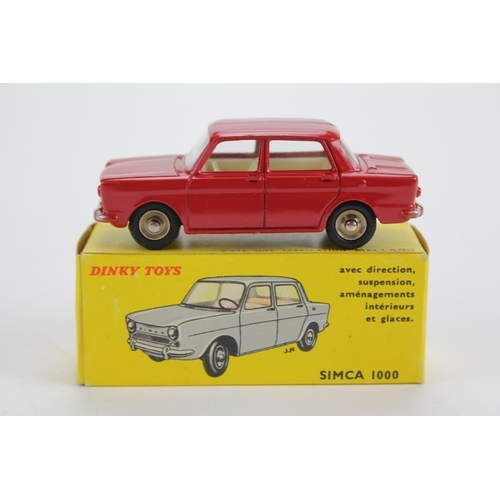 78 - A French Dinky No: 519 Simca 1000 Saloon