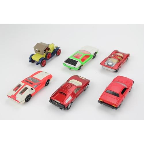 94 - 6 x 1970's Dinky Models to include: Mercedes C111, Triumph TR7, Lamborghini Marzal, Morris Oxford, D...