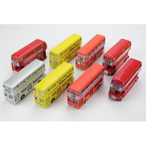 96 - 8 x 1970's Dinky Buses to include: 5 x