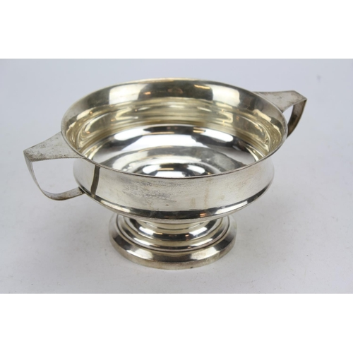 13 - A Silver Two Handled Fruit Compote, Birmingham M. Weighing: 323 Grams....