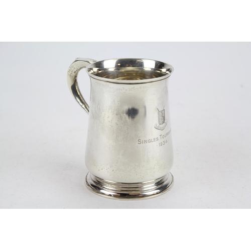 16 - A Silver Pint Mug