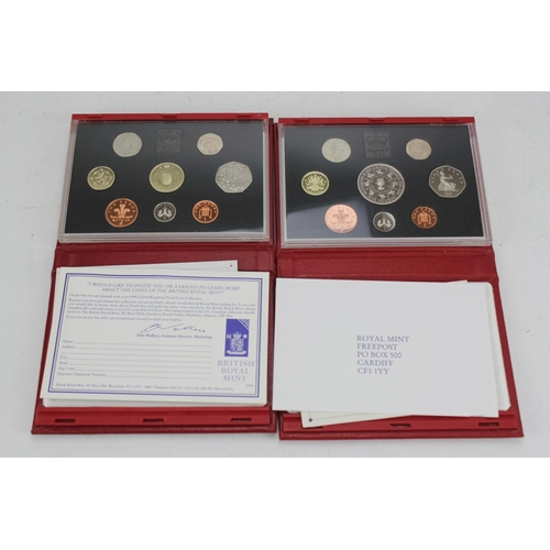 142 - Two proof sets to include 1993 + 1994