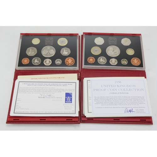 143 - Two proof sets to include 1997 + 1998