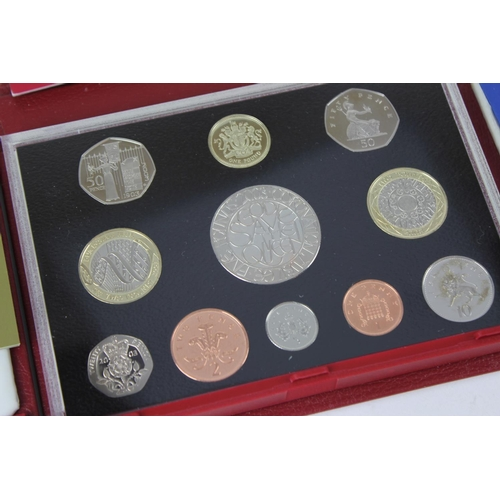 145 - A quantity of proof sets to include, 2002 + 2003 + 2004