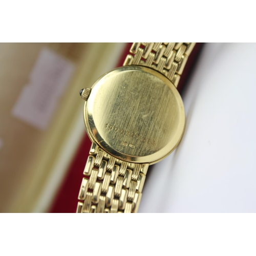 109 - A Beautiful Ladies 18ct Gold cased Wristwatch by