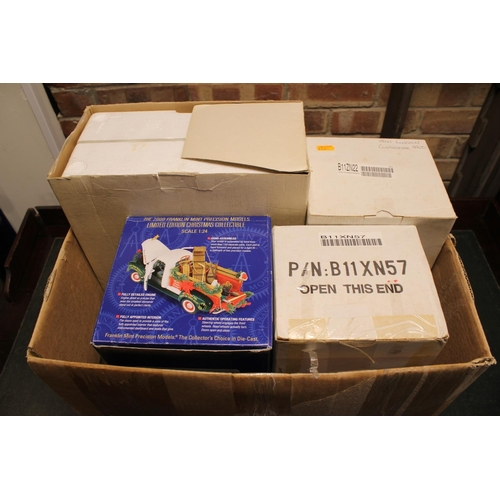 342 - 4 x Boxed Franklin Mint Models to include a 1941 Lincoln, 1950 GMC Limited Edition, along with two o...