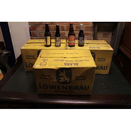 131 - A Collection of 3 x Original late 1970's Boxes containing mostly 1977 Silver Jubilee Ales & Beers. (...