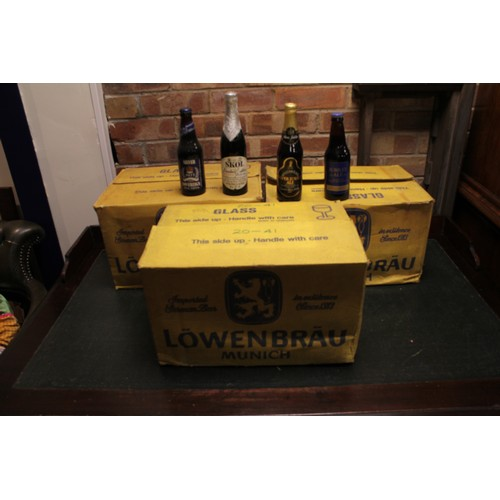 132 - A Collection of 3 x Original late 1970's Boxes containing mostly 1977 Silver Jubilee Ales & Beers. (...