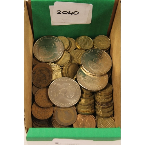 245 - A Collection of 250+ Bronze Coins to include: 49 x 3d, 144 x 1d, 61 x 1\2d along with 4 x Princess D...