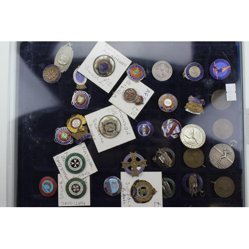 258 - A Collection of medals to include Silver medals, A.F.S., Royal Engineers, Swimming, Diving, Irish, e...