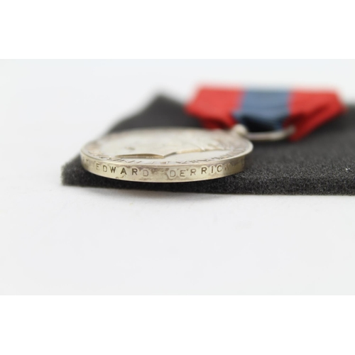 264 - A Silver designed George V1 imperial service medal with ribbon....