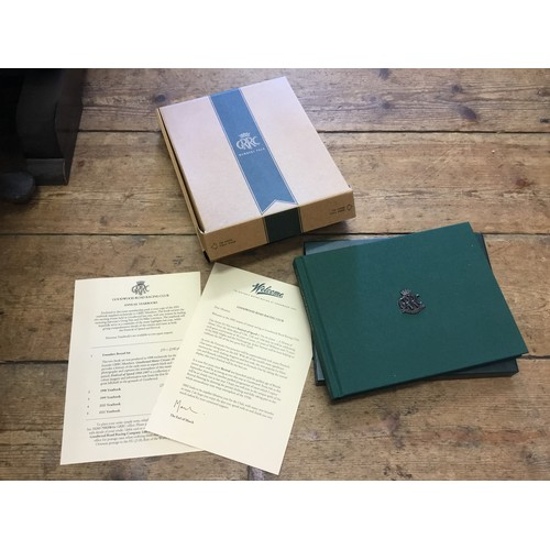 306 - A nice collection of Goodwood Racing Programmes, Tickets, Badges for Goodwood Revival, Members Meeti...