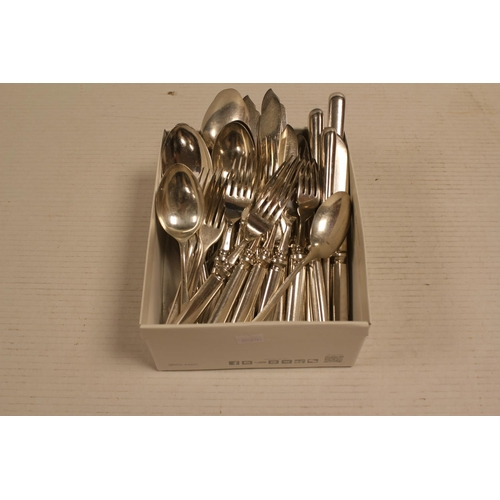 31 - A large quantity of Silver Plated Fish Eaters along with other Silver Plated Cutlery....