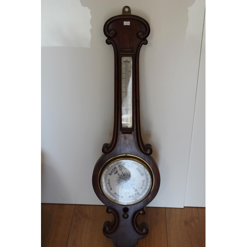 661 - A H.Toogood (Uckfield) Barometer. (Not Tested). Measuring: 93cms High.