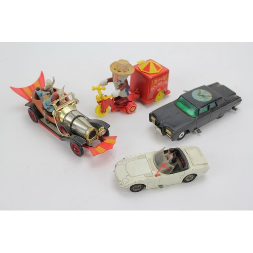 1 - A Collection of Corgi TV Related Models to include: James Bond Toyota 2000GT, Chitty Chitty Bang Ban...