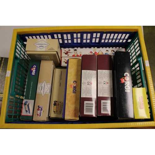 12 - A Collection of 10 x 1990's Boxed Corgi Classic Models to include Gift Sets with Certificates.