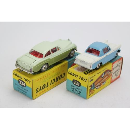 15 - A Pair of Corgi Toys to include: No: 224