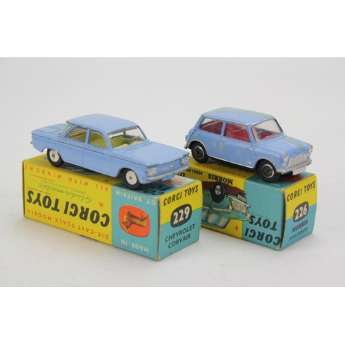 16 - A Pair of Corgi Models to include: 226