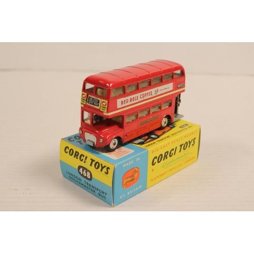 33 - A Scarce Corgi No: 468 Routemaster Bus