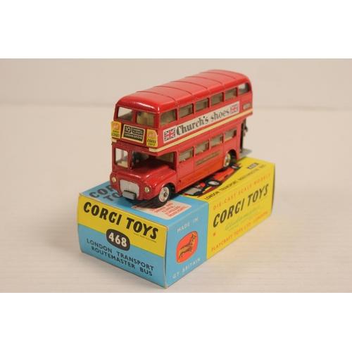 34 - A Scarce Corgi No: 468 Routemaster Bus