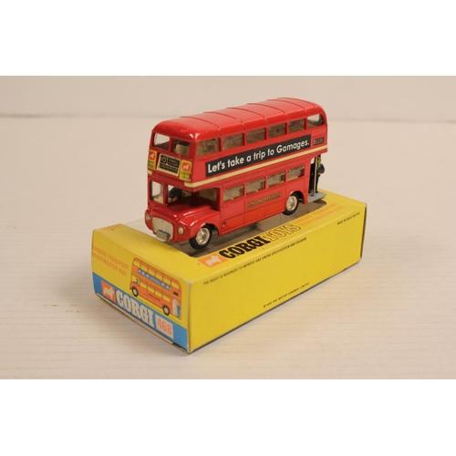 35 - A Scarce Corgi No: 468 Routemaster Bus