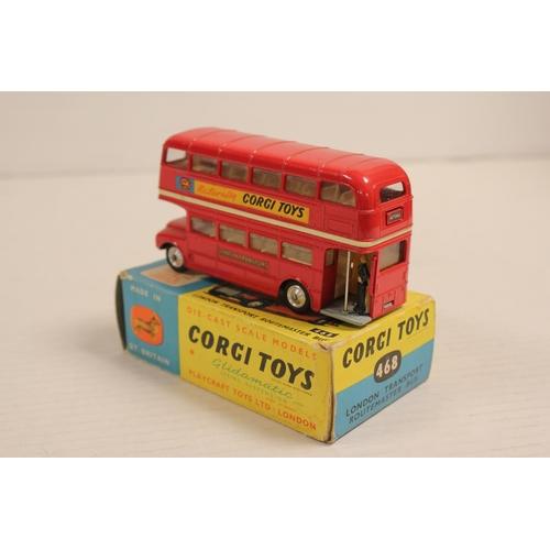 36 - A Corgi No: 468 Routemaster Bus