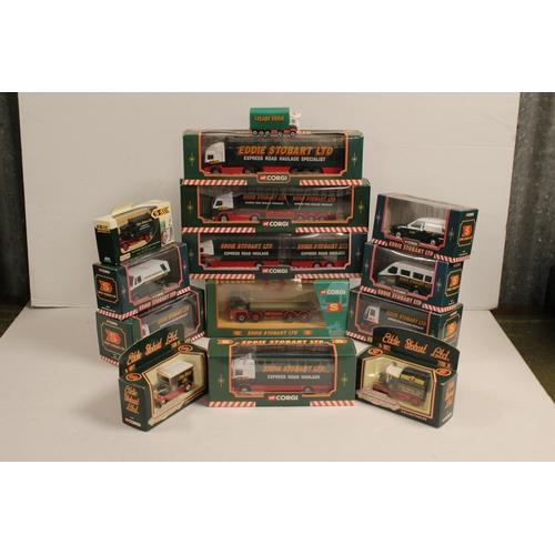 37 - A Collection of 13 x Boxed Corgi