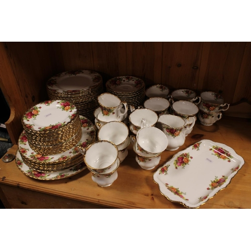 494 - A Large Collection of Royal Albert in the