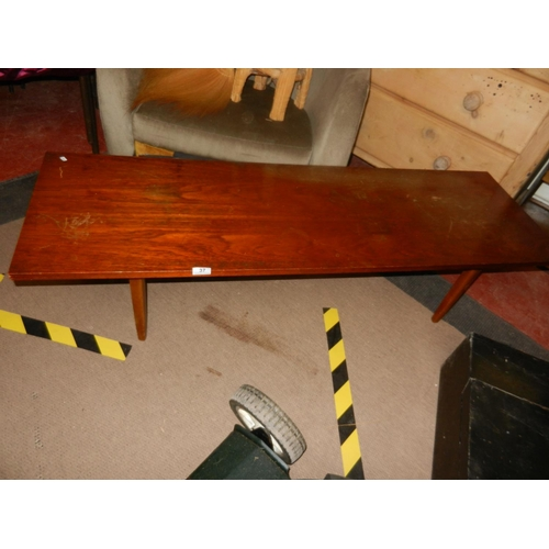 37 - RETRO LONG JOHN COFFEE TABLE...