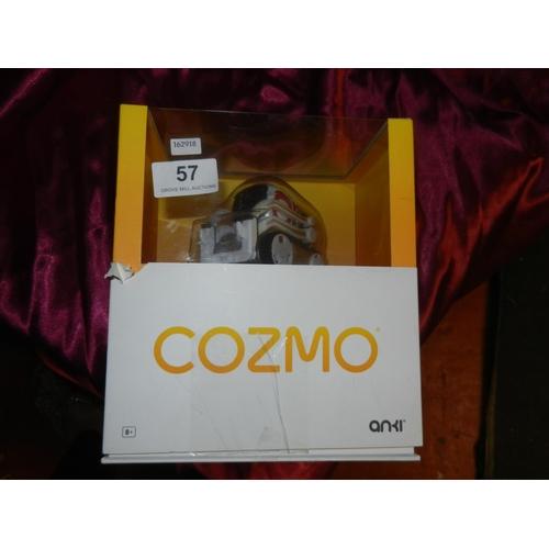 57 - BOXED COZMO ROBOT(A/F)...