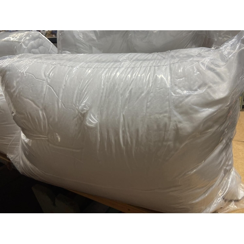 33 - 2 PACK OF PILLOWS (NEW)...