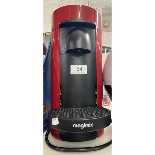 54 - NESPRESSO COFFEE MACHINE (W/O)...