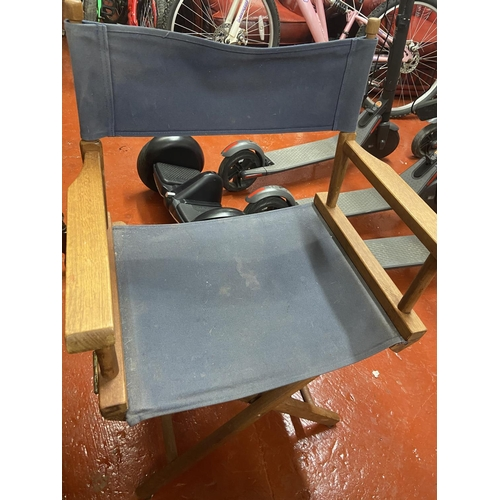 46A - TALL DIRECTORS CHAIR