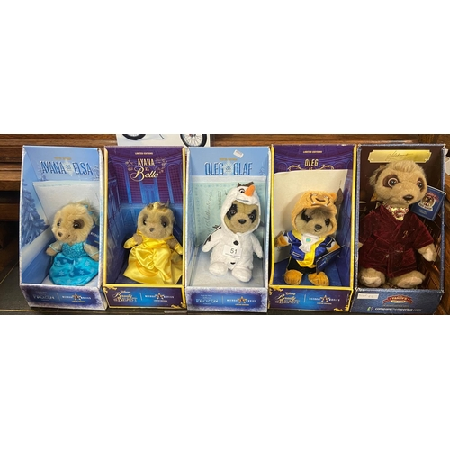51 - 5 BOXED MEERKAT COLLECTABLES