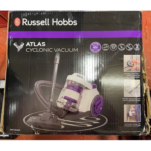 35 - BOXED RUSSELL HOBBS ATLAS CYCLONIC VACUUM(A/F)