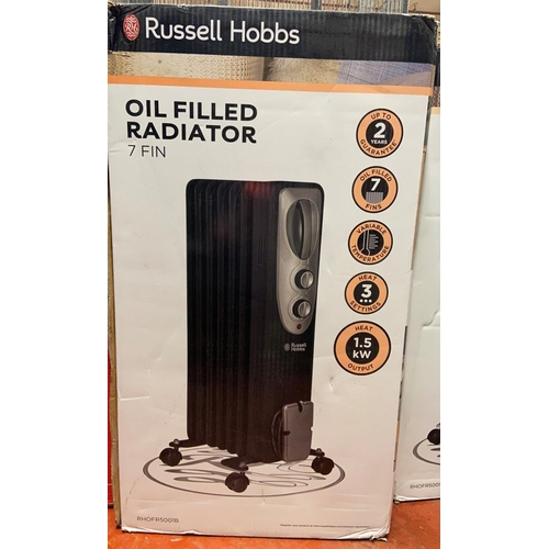 46 - BOXED RUSSELL HOBBS OIL FILLED RADIATOR(A/F)
