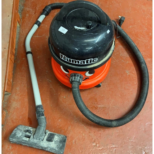 55 - HENRY NUMATIC HOOVER WITH ACCESSORIES (A/F)