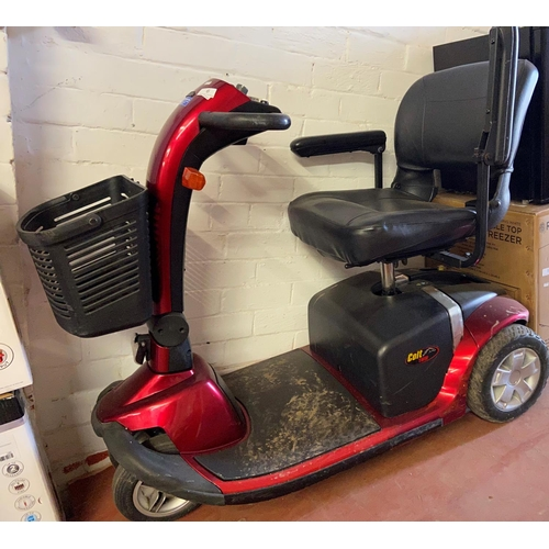 6 - COLT TWIN MOBILITY SCOOTER WITH CHARGER (W/O)
