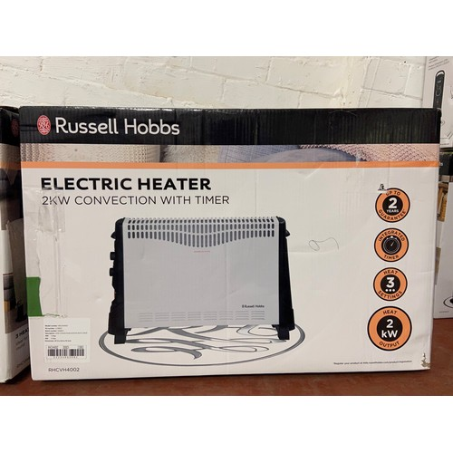 32 - BOXED RUSSELL HOBBS ELECTRIC HEATER(A/F)
